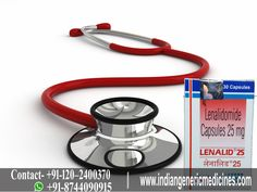 #Lenalid 25mg (available in the form of capsule) is an immunomodulating medication that affects the functioning of immune system to aid the bone marrow in making new and normal blood cells, also at the same time erasing the unusual cells from the bone marrow.