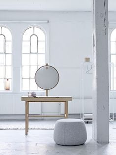 Hello Gorgeous! Phine make-up table designed by Bloomingville <3