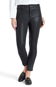 Shop a great selection of Sam Edelman The Stiletto Coated Ankle Skinny Jeans. Find new offer and Similar products for Sam Edelman The Stiletto Coated Ankle Skinny Jeans. Leather Skinny Jeans, Skinny Jeans Style, Skinny Pants, Leather Pants, Womens Clothing Stores, Clothes For Women, Ulla Johnson, Jeans Dress, High Jeans