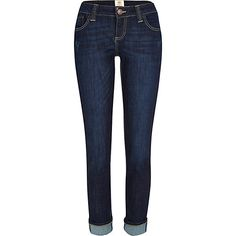 Dark wash Daisy slim jeans #riverisland #ridenim