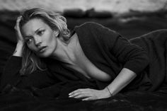 Kate Moss Featured in Naked Cashmere Campaign