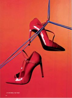 499ad095f71  CollezioniAccessori  n°81  Speciale  JohnGalliano  Women  Shoes