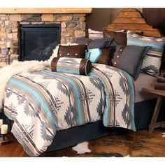Save - on all Western Bedding and Comforter Sets at Lone Star Western Decor. Your source for discount pricing on cowboy bed sets and rustic comforters. Western Bedding Sets, Western Bedroom Decor, Western Rooms, Rustic Comforter Sets, Country Western Decor, Rustic Bedrooms, Country Teen Bedroom, Vintage Western Decor, Western Curtains