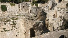 Pool of Bethesda | biblical pool of bethesda | www.ffhl.org #Franciscan #HolyLand