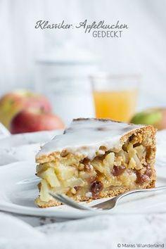 Ein ♥ für Klassiker: gedeckter Apfelkuchen