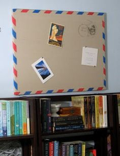Tutorial for mail inspired bulletin board