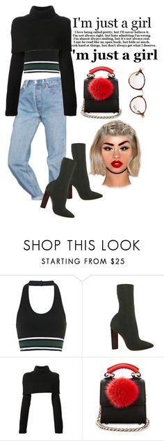 """Girls just wanna"" by fashion-is-my-passion-14 on Polyvore featuring Urban Outfitters, Topshop, Maison Margiela, Les Petits Joueurs and Ray-Ban"