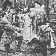 Sarah Bernhardt as Queen Elizabeth 1