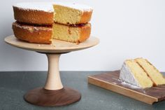 Pin Stripe Cake Stand – Peter Hall & Son