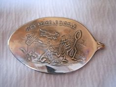 Hey Diddle Diddle Antique Sterling Silver by WoodsEdgeJewelry, $25.00