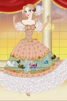 High Fashion Merry-Go-Round by Amerylis ~ Disney Dress Up