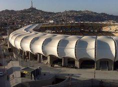 Un chileno entre los mejores estadios de América
