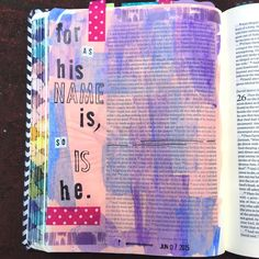 Bible journaling, 1 Samuel 25:25 — Arden Ratcliff-Mann #illustratedfaith