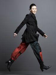 Ayako Suwa  in Yohji Yamamoto