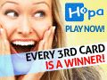Get $5 FREE to try HOPA`s online scratch cards!