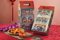 House of Joyful Celebrations Gift Box | PaperSpecs.com For the 2016 Chinese New Year, PEREKA.my enlisted the help of Eminent Creative to design a gift box that conveyed one of the main tenets of the holiday: the opportunity to start afresh.