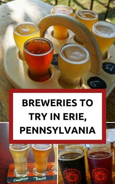 Looking for breweries in Erie, PA to check out? We've got you covered in this guide to some delicious options on the Ale Trail!  #erie #pennsylvania #usa #beer #breweries #brews #alcohol #libations