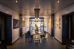 Grand Hotel Molino Stucky Showcooking Area, Venice, 2015 - Studio Giallombardo