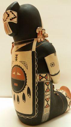 Story Teller Native American Pottery Dena M Suina Cochiti 22 Children Signed | eBay