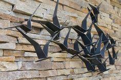 Birds in Flight by Curtis Jere #Sculpture #Birds #Curtis_Jere