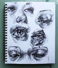 Fashion ilustration sketchbook galleries Ideas - A Level Art Sketchbook -. Art Inspo, Kunst Inspo, A Level Art Sketchbook, Arte Sketchbook, Fashion Sketchbook, Pencil Art Drawings, Art Drawings Sketches, Elly Smallwood, Art Du Croquis