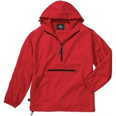 Charles River Women's Red Pack-N-Go Pullover