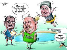 Caricatura del 26 de marzo del 2015