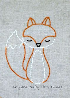 Mr Fox 2 Idea .... Easily Replicated embroidery Like in a good old days @Ani Harutyunyan :)
