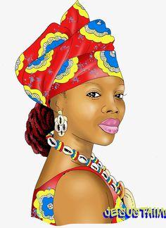 FEMME DE LA RDC FEMME FORTE
