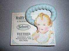 Baby Bite Teether by Selzwel-1920's