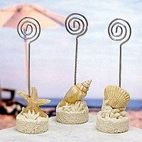 Seashell Themed Placecard Holders