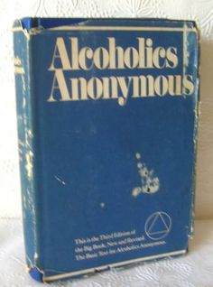 Alcoholics-Anonymous-Book-1976-1st-Printing-3rd-Edition-in-ODJ
