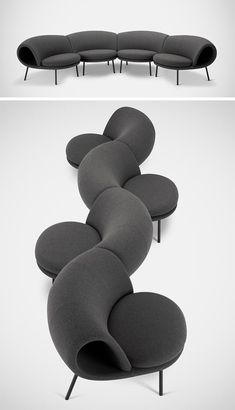 The Shape Of The Maki Chair Was Inspired By Sushi