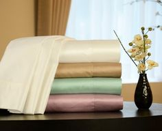 Empress Silk Cotton/Silk Satin Sheet Set, Queen, White  http://aluxurybed.com/product/empress-silk-cottonsilk-satin-sheet-set-queen-white/