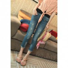Cheap Womens Denim Jeans, Cheap Denim Jeans For Women & Womens Jeans With Wholesale Prices Sale Page 5 - Sammydress.com