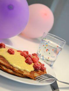 Krispiga pannkakor med citronkräm - Vardagsliv med LCHF