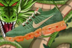 finest selection fc3a2 29f27 Dragonball x Nike Air Vapor Max Vapormax Homme, Chaussure, Tendance Deco,  Style Homme