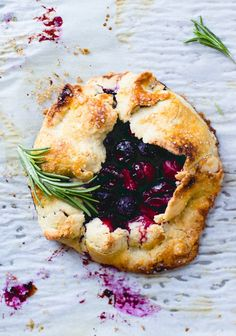 Cranberry Blueberry Mini Galettes. I want to try these with a grain free crust and arrowroot in the filling. They are so lovely!