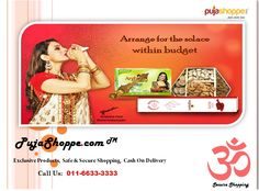 Appease your devotional needs at the best prices. Buy online puja items from Pujashoppe to get rituals performed at their spiritual best.