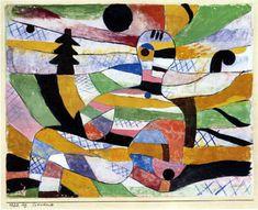 Paul Klee - Erwachende 1920
