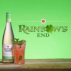 Made with Sutter Home Chenin Blanc, our Rainbow's End wine cocktail will have you rejoicing in your good fortune.
