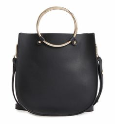 Main Image - BP. Metal Ring Crossbody Bag