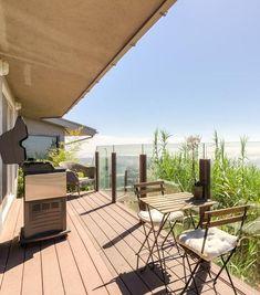 Fresh Balcony Shades for Apartment