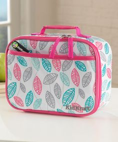 Love this Leaves Lunch Box on #zulily! #zulilyfinds
