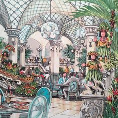 Tokyo Disney Resort restaurant concept