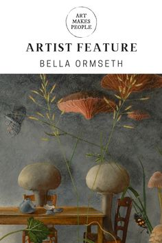 Discover the surreal and beautiful art of Bella Ormseth Contemporary Artists, Amazing Art, Surrealism, Illustration Art, Painting, Beautiful, Painting Art, Paintings, Painted Canvas