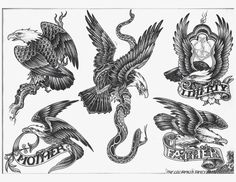 Image result for eagle tattoo designs