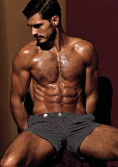 Hairy Diego Miguel Wears Charlie by Matthew Zink 5