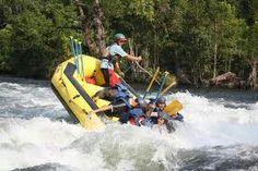 Dandeli, Karnataka - There's nothing more exciting than rafting in a fresh water body!