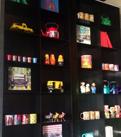 The quirky decor @ Long & Short, the Gastrobar